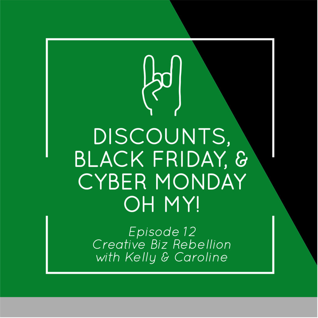 Episode 12 – Discounts, Black Friday, & Cyber Monday Oh My!