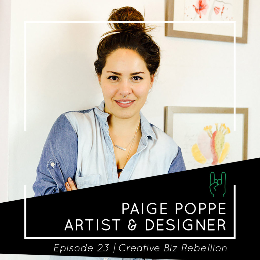 Episode 23 – Paige Poppe – Getting Involved in the Local Scene