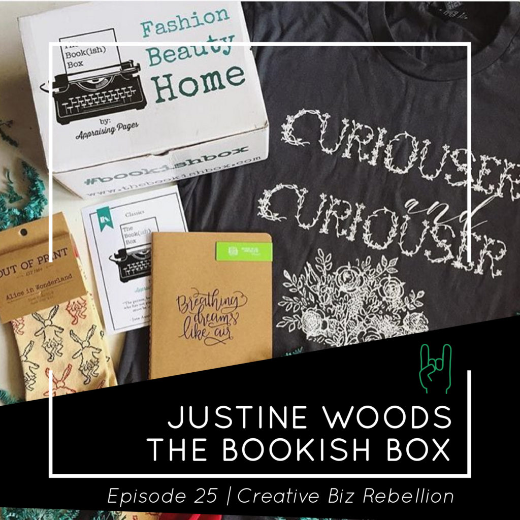 Episode 25 – Running a Subscription Box with Justine Woods