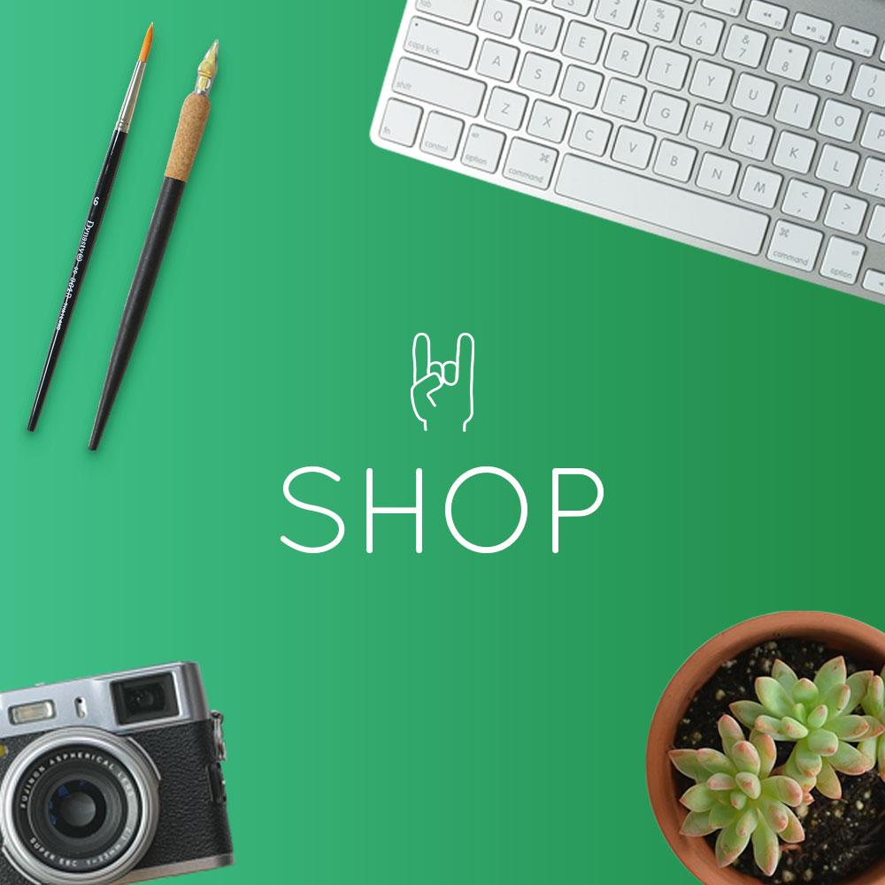 Creative Biz Rebellion Shop is Open!