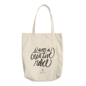 Creative Rebel Tote Bag