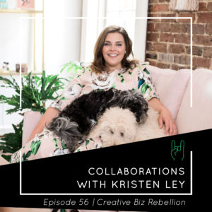 Episode 56 – Collaborations with Kristen Ley of Thimblepress