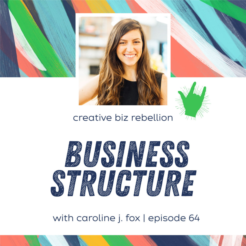 Episode 70 – Business Structure with Caroline J. Fox Law