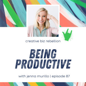Episode 87 – Being Productive with Jenna Murillo of Workspacery