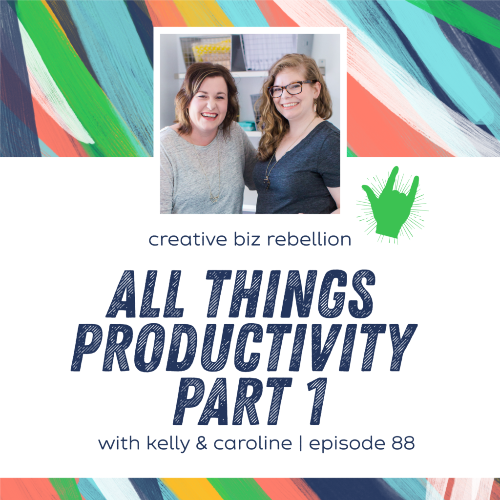 Episode 88 – All Things Productivity Part 1
