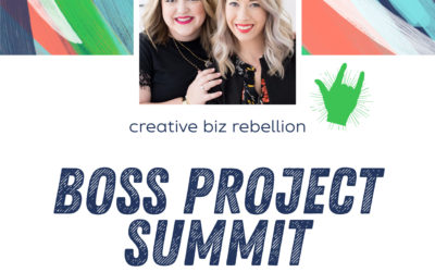 Bonus Episode – Boss Project Summit with Abigail and Emylee of the Think Creative Collective