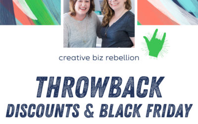 Throwback – Episode 12 – Discounts, Black Friday, & Cyber Monday Oh My!