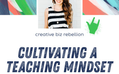 Episode 111 – Cultivating a Teaching Mindset with Rebecca Tracey