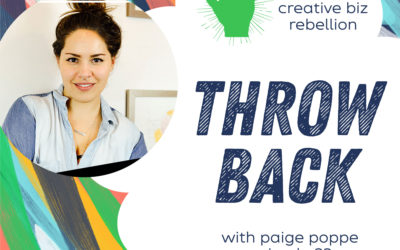 Throwback – Episode 23 – Paige Poppe – Getting Involved in the Local Scene