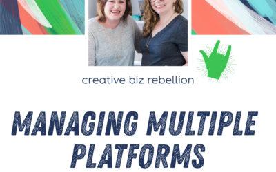 Episode 125 – Managing Multiple Platforms