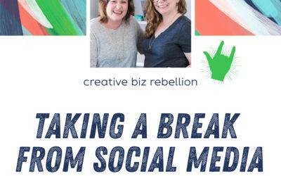 Episode 126 – Taking a Break from Social Media